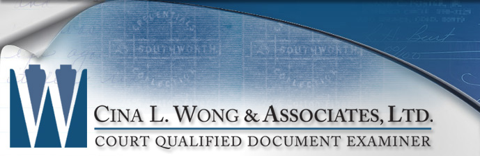 Image Watermarking for Tamper Detection - Cina L. Wong & Associates, Ltd. Court Qualified Document Examiner